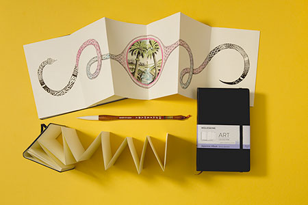 Moleskine, stop motion, animation, web production