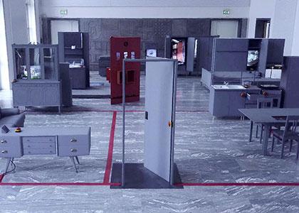 Dollar Street, interaction, exhibition. design and architecture, indoor